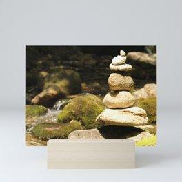 Rock Stack Mini Art Print