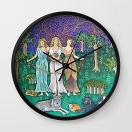 Goddess Girls Wall Clock
