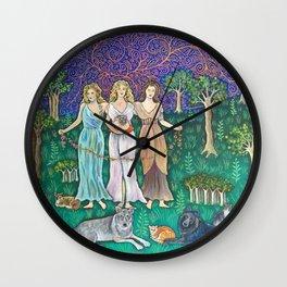 Goddess Girls Wall Clock