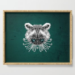 Cool Raccoon Serving Tray
