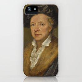 Angelica Kauffmann, R.A. COIRA 1741 - 1807   PORTRAIT OF JOHANN FRIEDRICH REIFFENSTEIN (1719–1793) iPhone Case