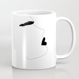 Watercolor brow Coffee Mug