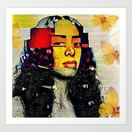 My Mona Lisa Art Print