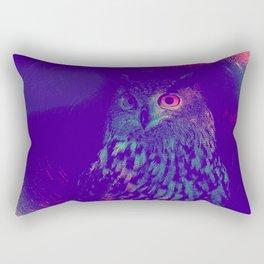 European Eagle Owl Rectangular Pillow
