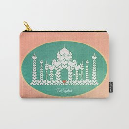 Taj Mahal is Love Carry-All Pouch