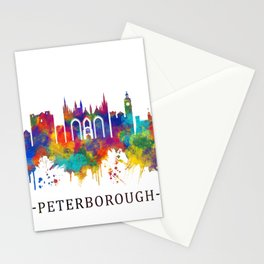 Peterborough England Skyline Stationery Cards