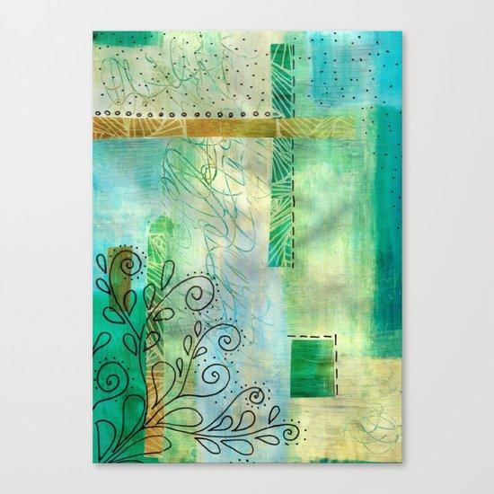 cool mint Canvas Print