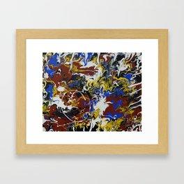 Blurred Lines Framed Art Print