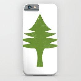 Maine Flag iPhone Case