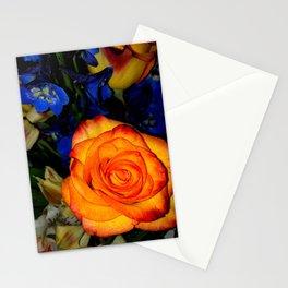 Blue Nights & Orange Skies Stationery Cards