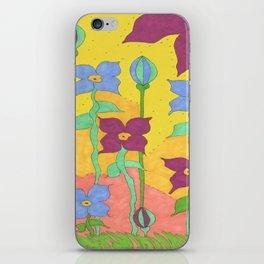 Sunshine Garden Bohemian Art iPhone Skin