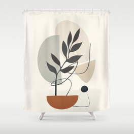 Persistence is fertile 4 Shower Curtain