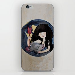 The First Seduction or Big Bad Wolf Having a Big Bad Day iPhone Skin