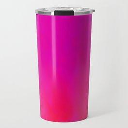 Fuchsia Fire Magenta Violet Ombre Travel Mug