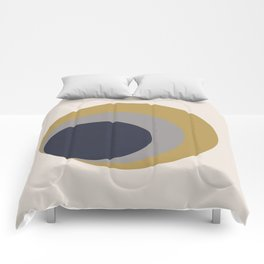 Nested Circles Comforters