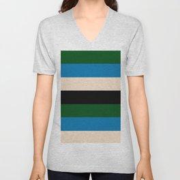 Color Stripe _003 Unisex V-Neck