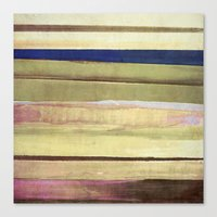 striped Canvas Prints featuring striped by Iris Lehnhardt
