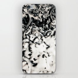 Chernobyl masks covered in snow iPhone Skin