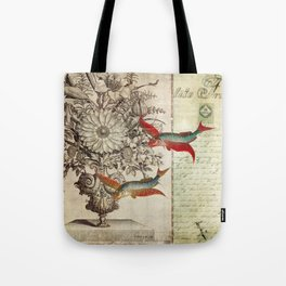 Fish of a Feather Tote Bag