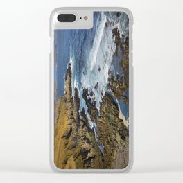 North Coast. Clear iPhone Case