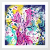 Arbor Adore Art Print