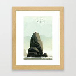 One Of The Flock Framed Art Print