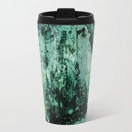 Teal Glass Travel Mug