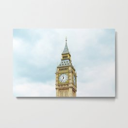 Big Ban, London Metal Print