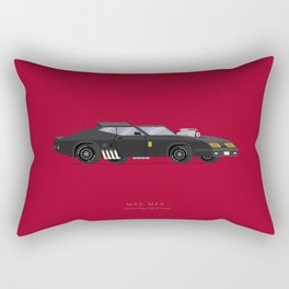 Mad Max | Famous Cars Rectangular Pillow