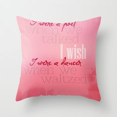 Simple Words Throw Pillow
