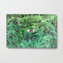 GREEN WAY Metal Print