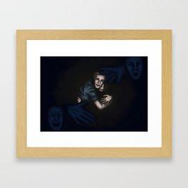 Fitz Saving Simmons Framed Art Print