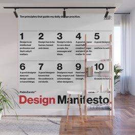 PabloZarate™ Design Manifesto Wall Mural