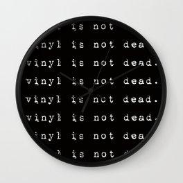 Vinyl is not dead. IV Wall Clock