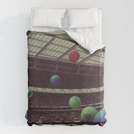 Coldplay at Wembley Duvet Cover