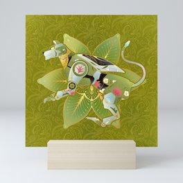Green Lion Mini Art Print