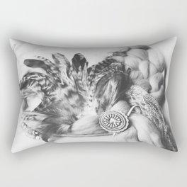 YARN & FEATHERS DREAMCATCHER Rectangular Pillow