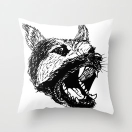 Cruel Throw Pillow