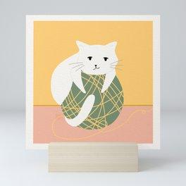 Little Ball of Fur Mini Art Print
