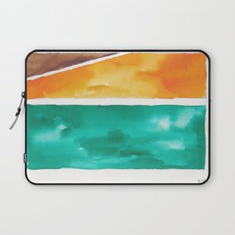 180811 Watercolor Block Swatches 7| Colorful Abstract |Geometrical Art Laptop Sleeve