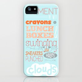 Swinging So High  iPhone Case