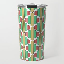 Art Deco Broach Pattern Travel Mug