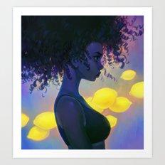 sour Art Print