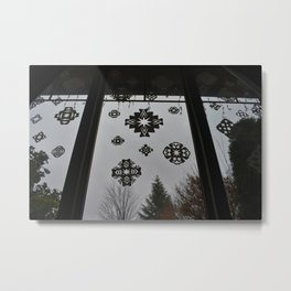 Homemade Snowflakes Metal Print