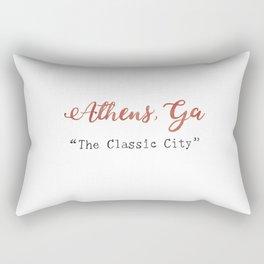 The Classic City Rectangular Pillow