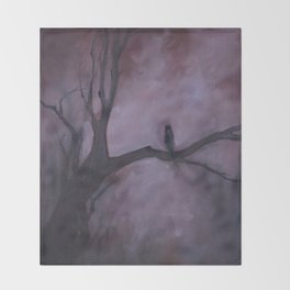 Free and Alone Throw Blanket