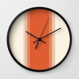 Marmalade & Crème Vertical Gradient Wall Clock