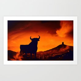 Spanish Symbol Art Print