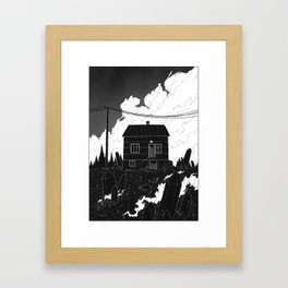 And I will not rust away this time. Framed Art Print