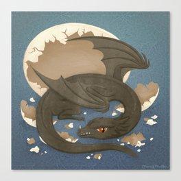 Dragon Hatchling Canvas Print